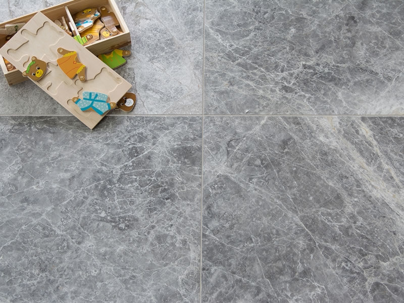 Silver Tundra Marble - Polished