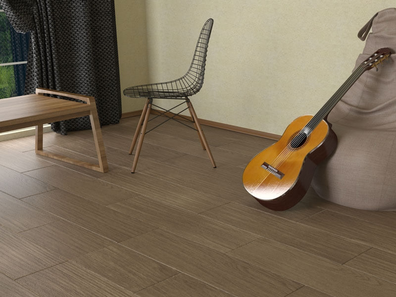 Madrid Brown Wood Effect Matt Porcelain