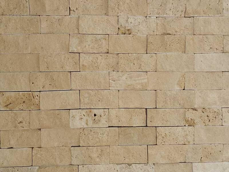 Ivory Travertine - Split Face