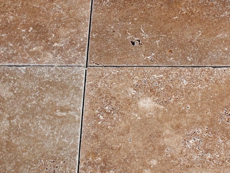 Noce Travertine - Tumbled & Unfilled