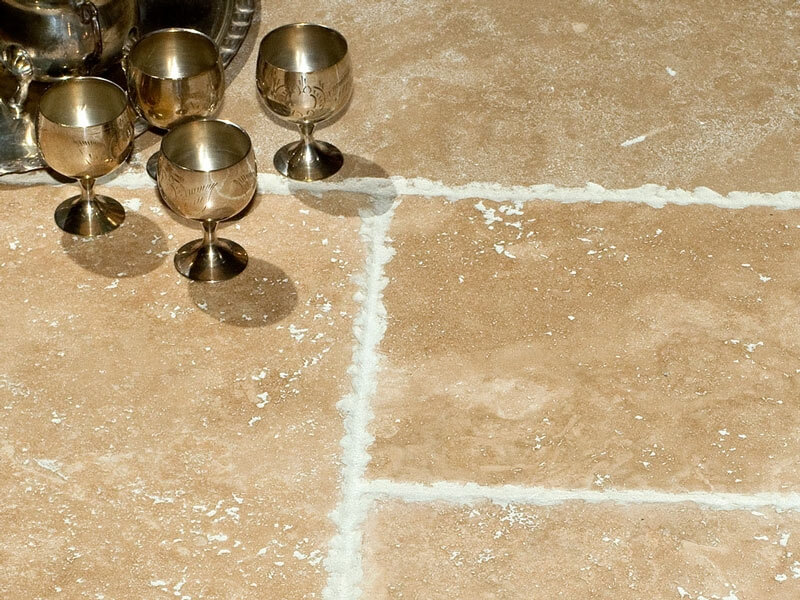 Premium Classic Travertine - Brushed & Unfilled Chipped Edge