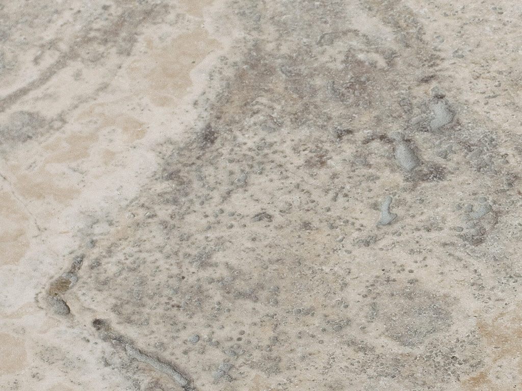 Silver Travertine - Tumbled - Unfilled