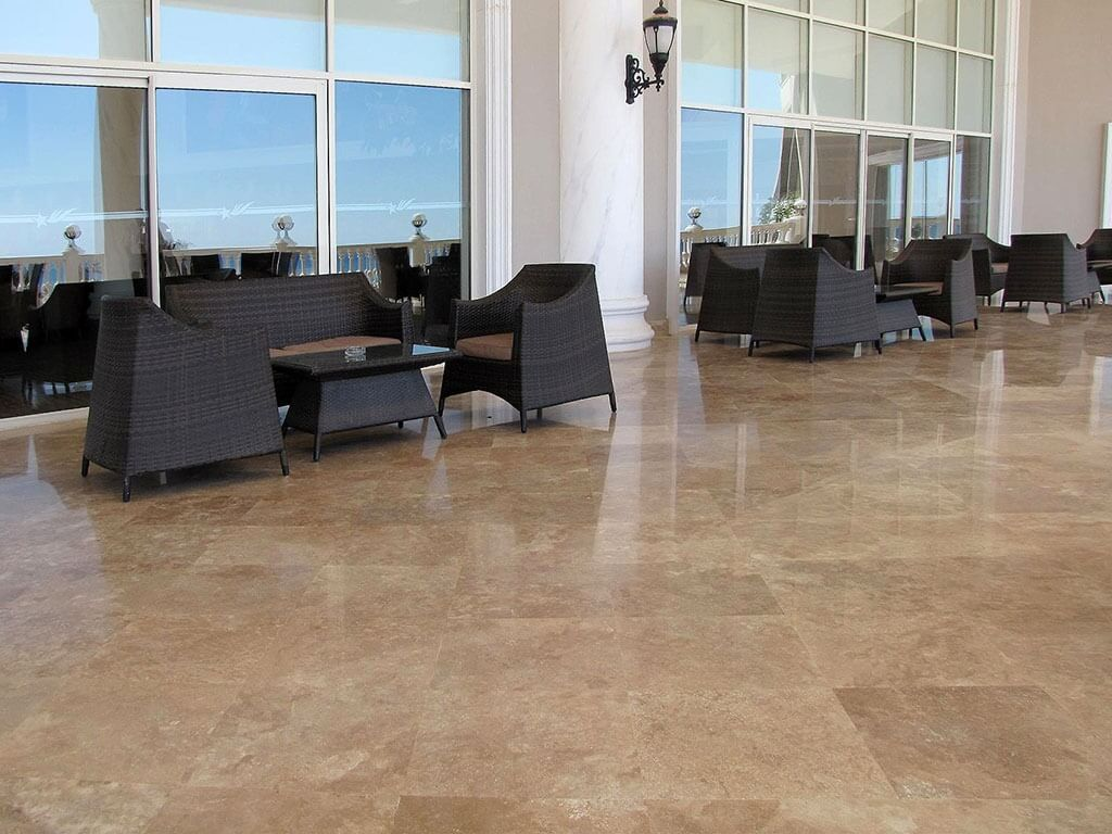 Noce Travertine - Filled & Honed