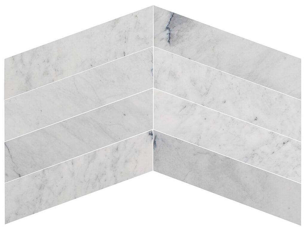 carrara-white-chevron-marble-polished
