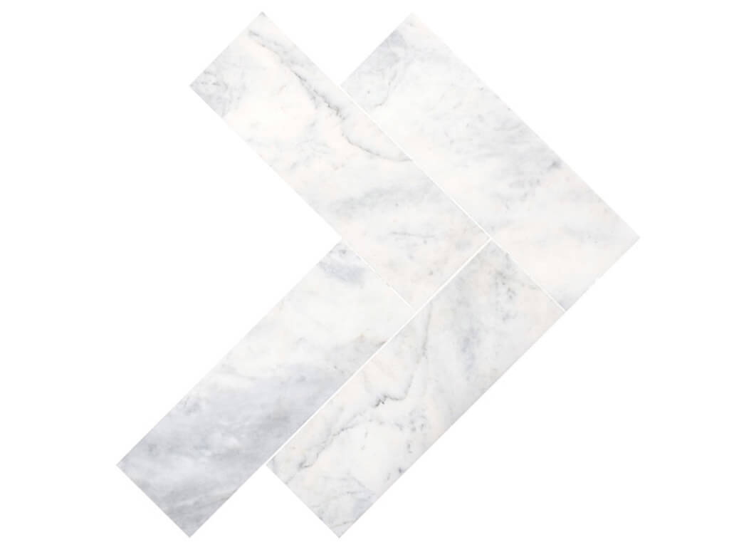 carrara-white-marble-herringbone-polished
