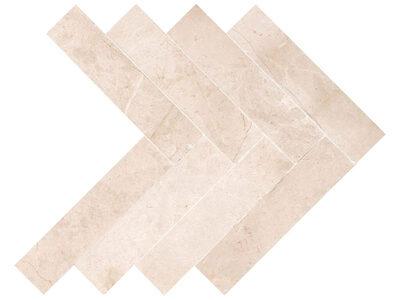 Crema Marfil Premium Marble Herringbone - Polished