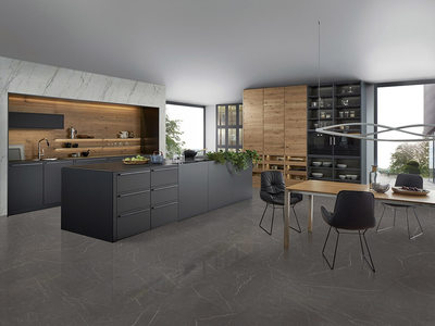 Montreal Grey Rectified Matt Porcelain