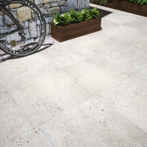 Silver Grey Anti Slip Rectified Matt Outdoor Porcelain