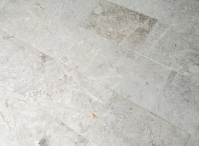 Silver Classic Marble - Polished